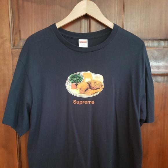 7e49da7ca9b5 Supreme Shirts | Chicken Dinner Tee | Poshmark